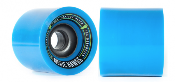 Hawgs Longboard Wheels Bigger Biggie Hawgs 73mm 78a - Blue