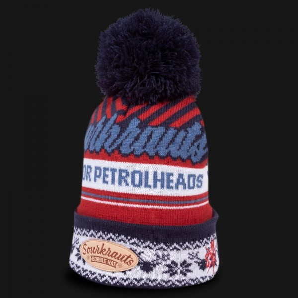 Sourkrauts Bobblehat blue/red