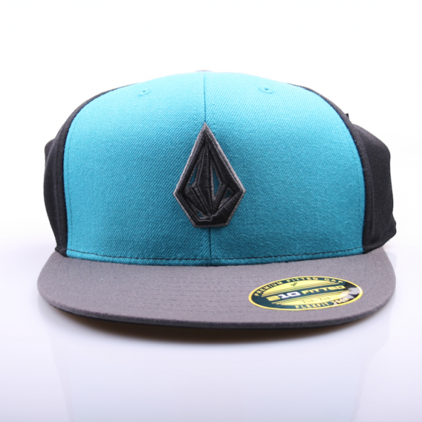 Volcom 2 Stone 210 Fitted Hat Turquoise/Black