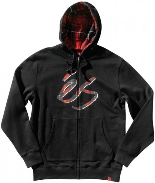 és Zip Hooded Spens black