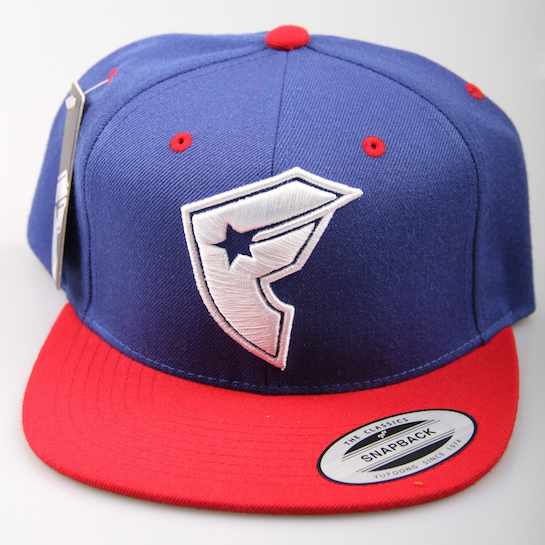 Famous Cap Official BOH Snapback Royal / Red / White