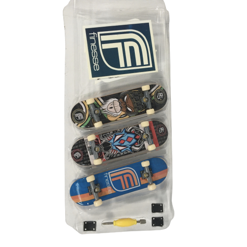 Techdeck Fingerboard 3er Set