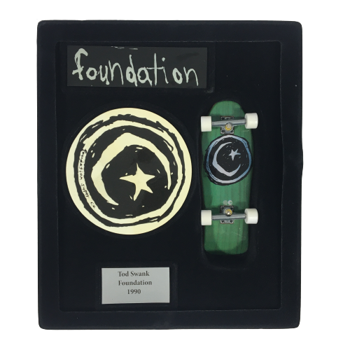 Techdeck Fingerboard Collector Series Foundation - Tod Swank 1990