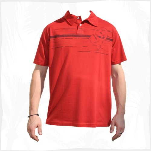 Quiksilver Polo Cutter Comp Red