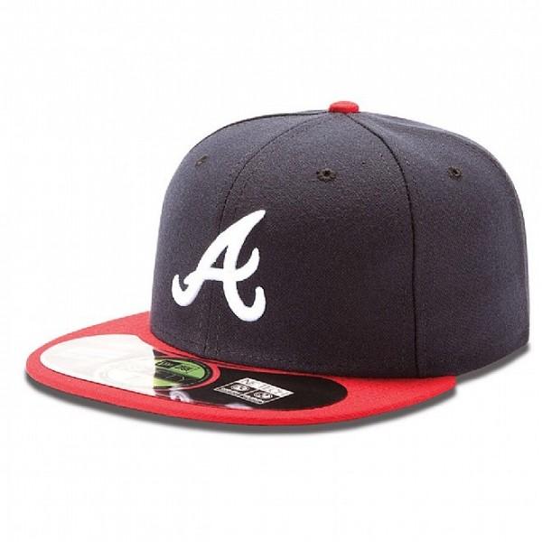 New Era Cap 59-Fifty Atlanta Braves Authentic navy/red