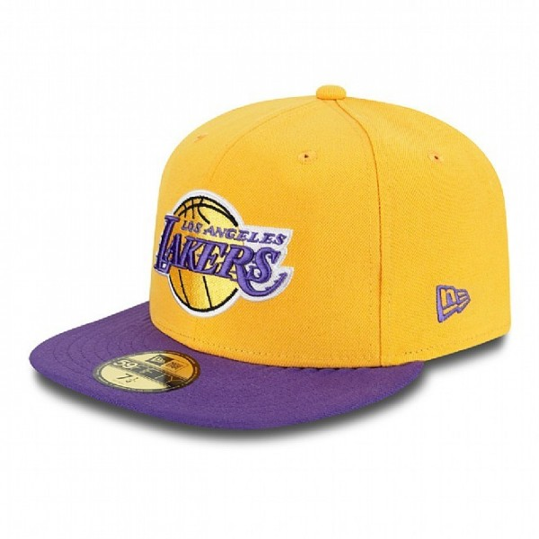 New Era Cap 59-Fifty Team Flip LA Lakers