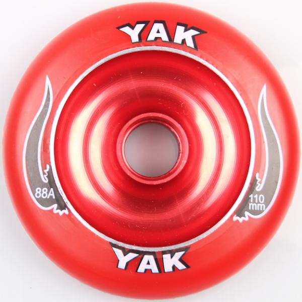 Yak Scooter Wheel 110mm Red inkl Abec 5 Bearing