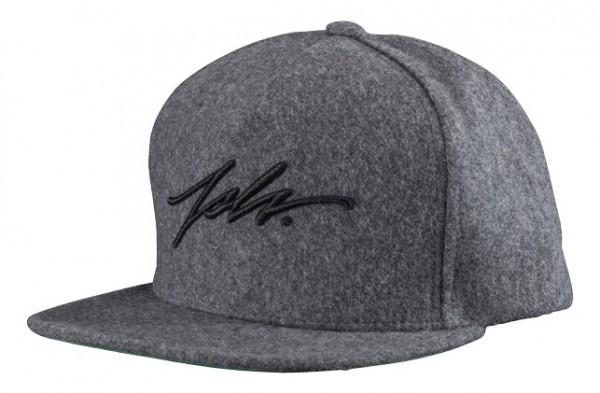 JSVL Wool Snapback Signature - Grau