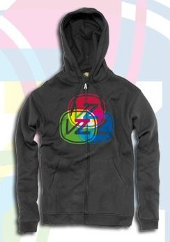 Vonzipper Zip Hooded Spectral charcoal