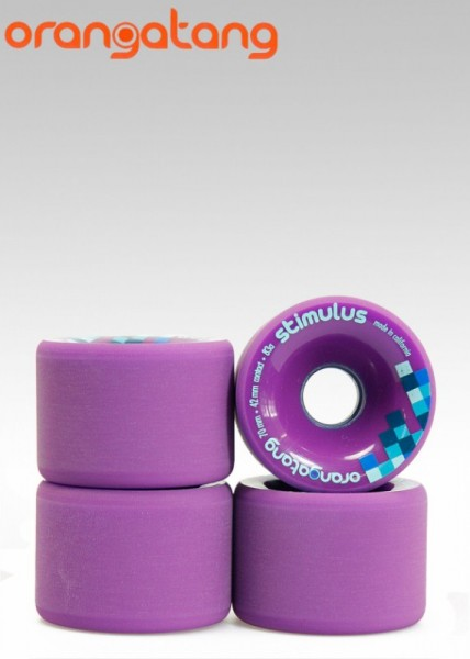 Orangatang Longboard Wheels Stimulus 70mm 83a Purple