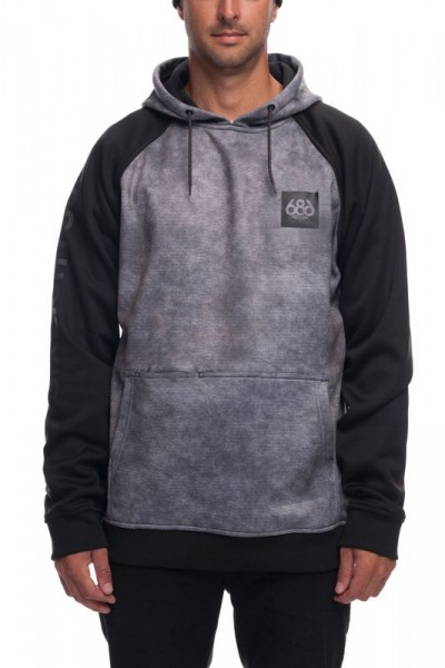 686 Knockout Bond Fleece Hoody charcoal