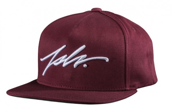JSVL Snapback Signature - Weinrot