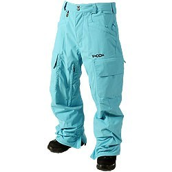 Volcom Snow Pant Entities light blue