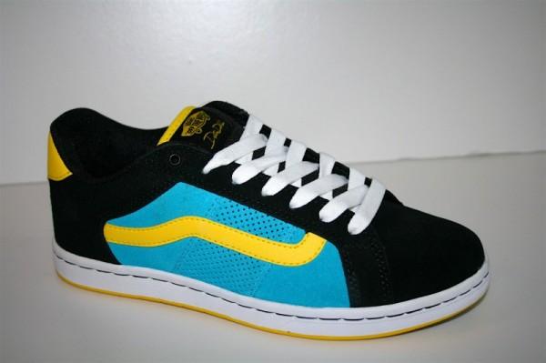 Vans Schuhe No Skool Tre black yellow blue