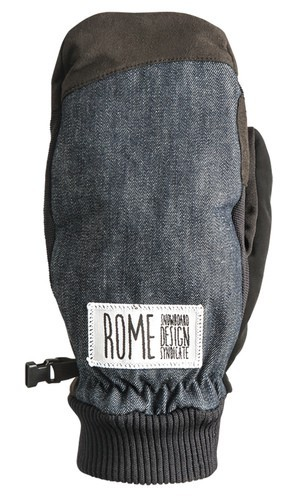 Rome Gloves Authentic Mitt Black
