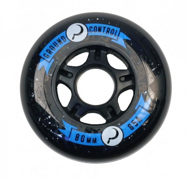 Ground Control Wheels 80mm 85A - Black