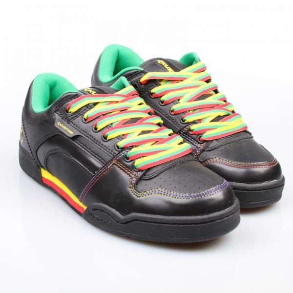 Kustom Schuhe Dekade black rasta