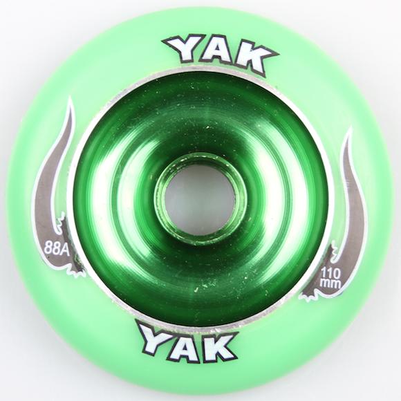Yak Scooter Wheel 110mm Green inkl Abec 5 Bearing