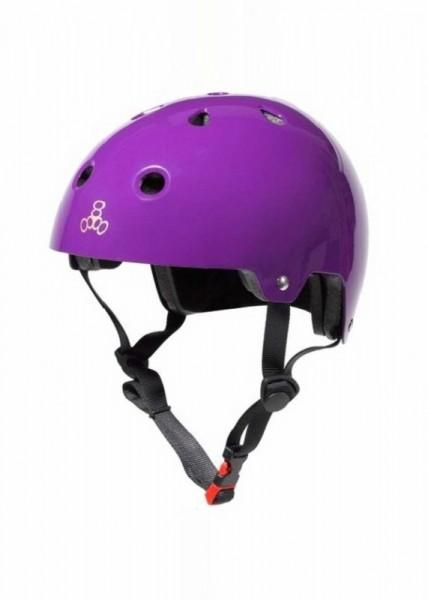 Triple Eight Helm Brainsaver purple glossy