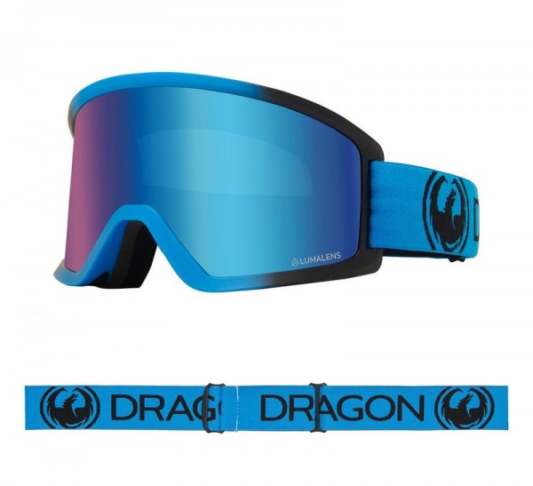 Dragon Goggle DX3 OTG Blueberry with Lumalens Blue Ionized Lens