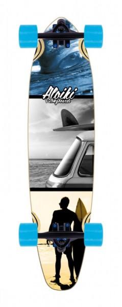 """Aloiki Longboard Complete """"Summer"""""""
