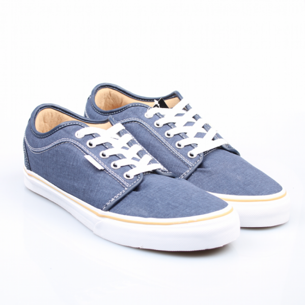 Vans Schuhe Chukka Low navy/washed canvas