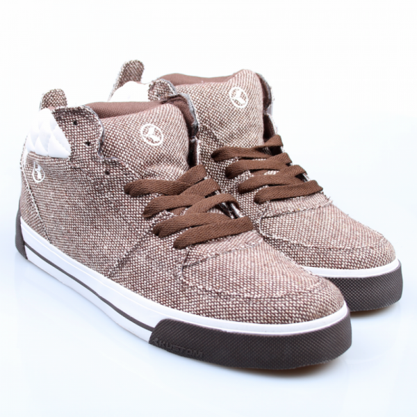 Kustom Schuhe Antik Slim grey/brown