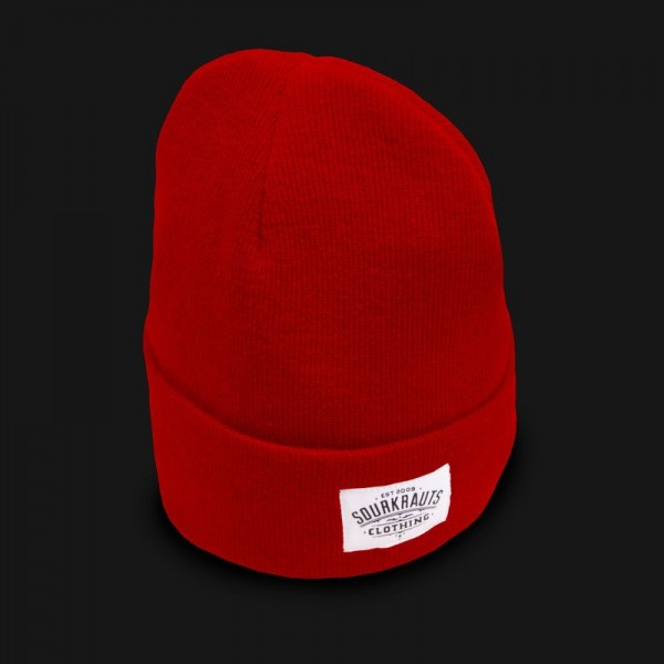 Sourkrauts Beanie 19 Red