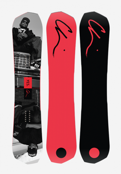 Yes Snowboard Greats X CHI Limited 154