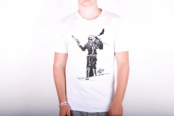Volcom Entertainment T-Shirt Terrorist White