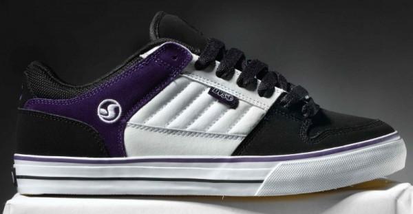 DVS Schuhe Munition CT black/purple
