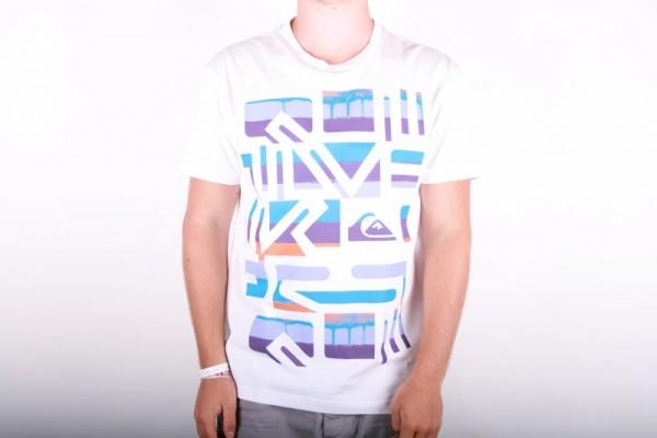 Quiksilver T-shirt I Bleeker - White