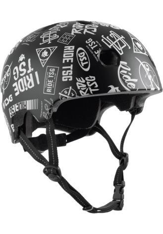TSG Helmet Meta Graphic Design Sticky