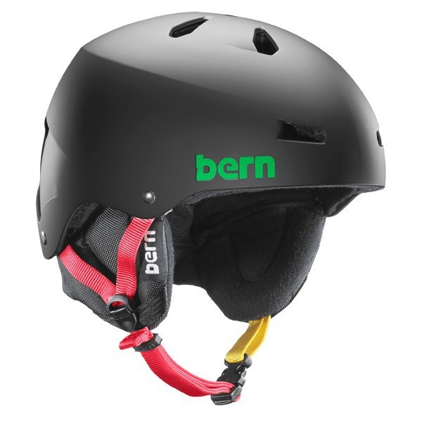 Bern Helm Macon EPS Black Rasta