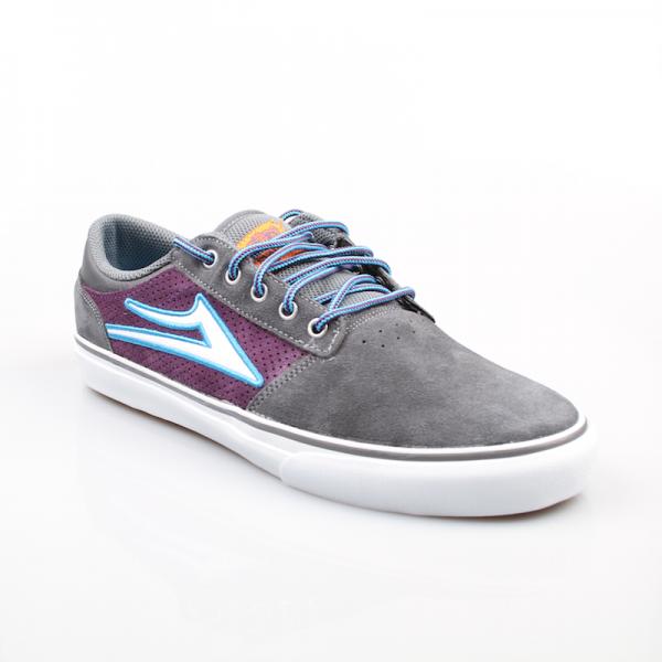 Lakai Schuhe Brea grey purple suede