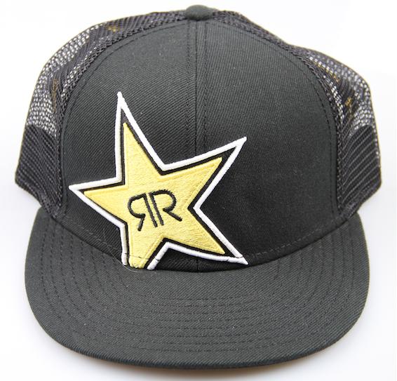 Rockstar Snapback Black