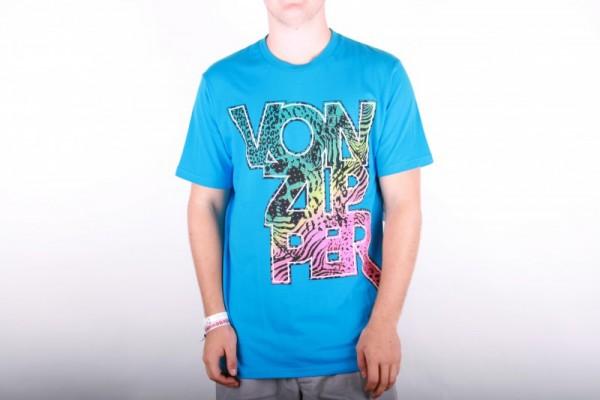 Vonzipper T-shirt Safari blue