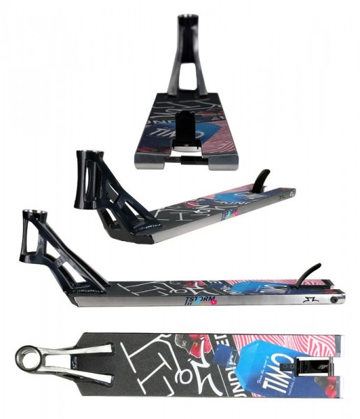 """AO Scooter Timo Pro 5.35"""" Deck midnight blue"""