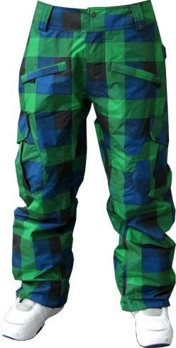 Vans Snow-Pant Landen Blue Plaid