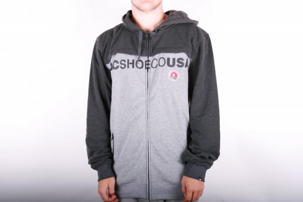 DC Hoodie DQMSW091 Highgate Black/Grey