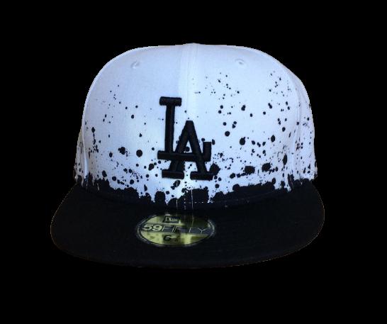 New Era Cap 59-Fifty LA Splatter black/white