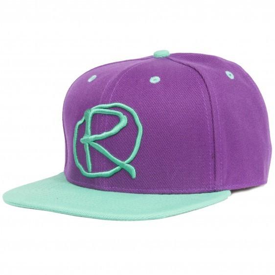 Rampworx Snapback Cap purple/teal