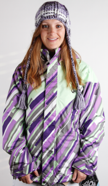 Volcom Snow Jacket Shale Ladies