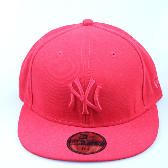 New Era Cap 59-Fifty New York red/red