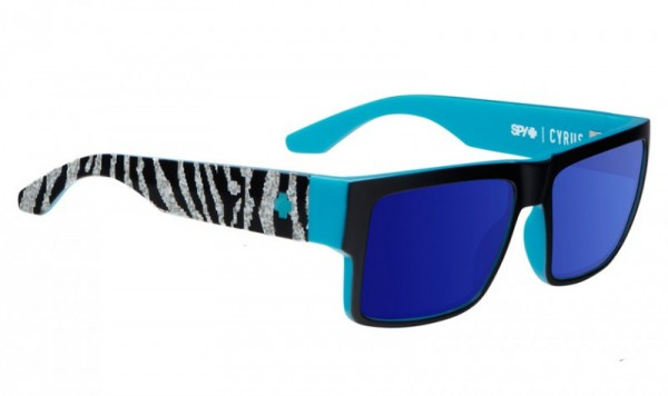 Spy Sunglasses Cyrus - KB Livery Black - Happy Bro W/ Dark Blue Spec