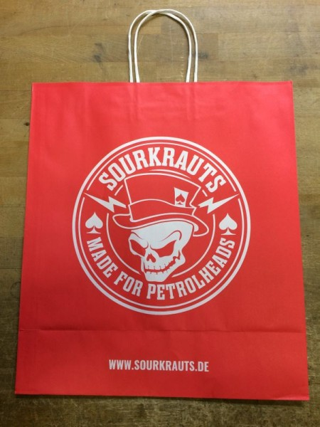 Sourkrauts Papiertüte red