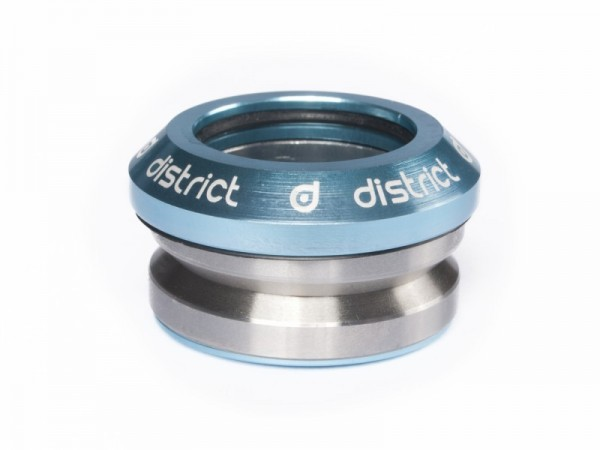 District Headset Integrated Sea Blue