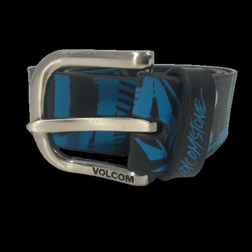 Volcom Leather Belt Broken Belt Black/Blue