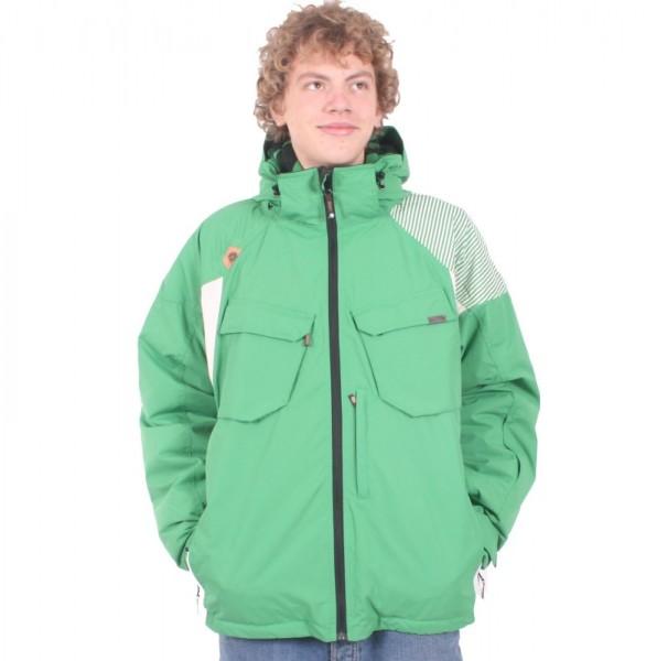 Light Snow Jacket Plasma kelly-green/whisper-white