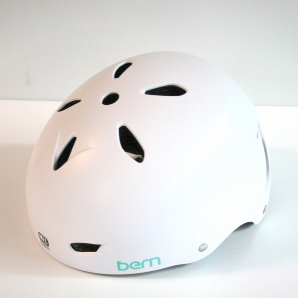 "Bern EPS Skate Helm ""Brighton"" satin white"